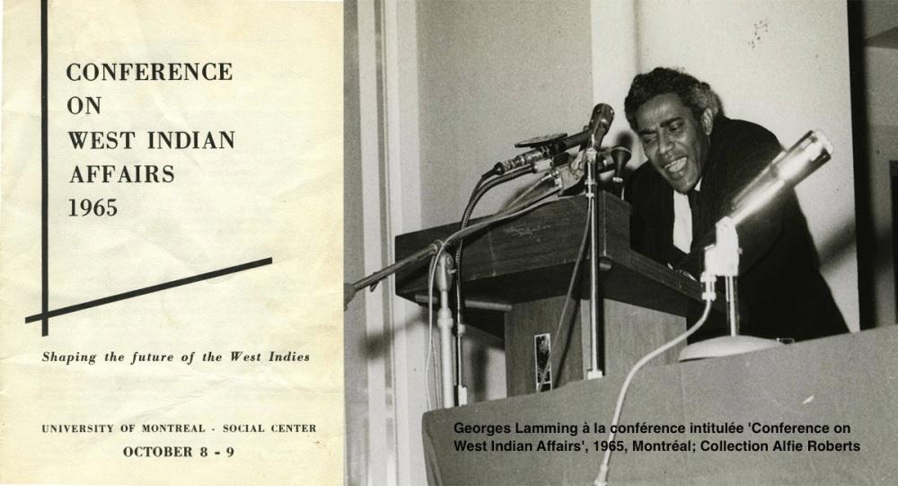 Georges Lamming à la Conférence de 1965